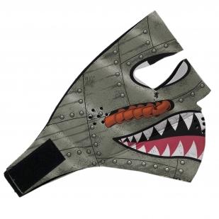 Крутая антивирусная маска из неопрена Skulskinz Ironman