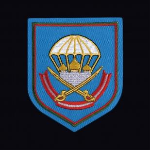 Крутая армейская футболка с вышитой эмблемой 137 ПДП ВДВ - купить с доставкой или самовывозом