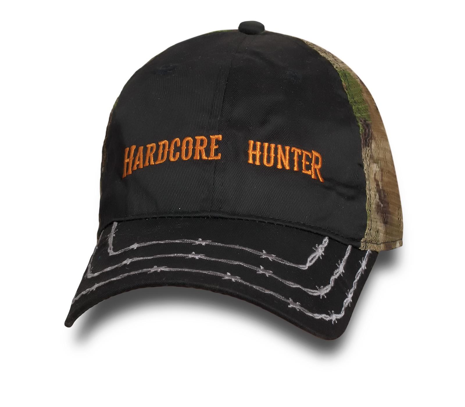 Крутая бейсболка Hardcore Hunter.