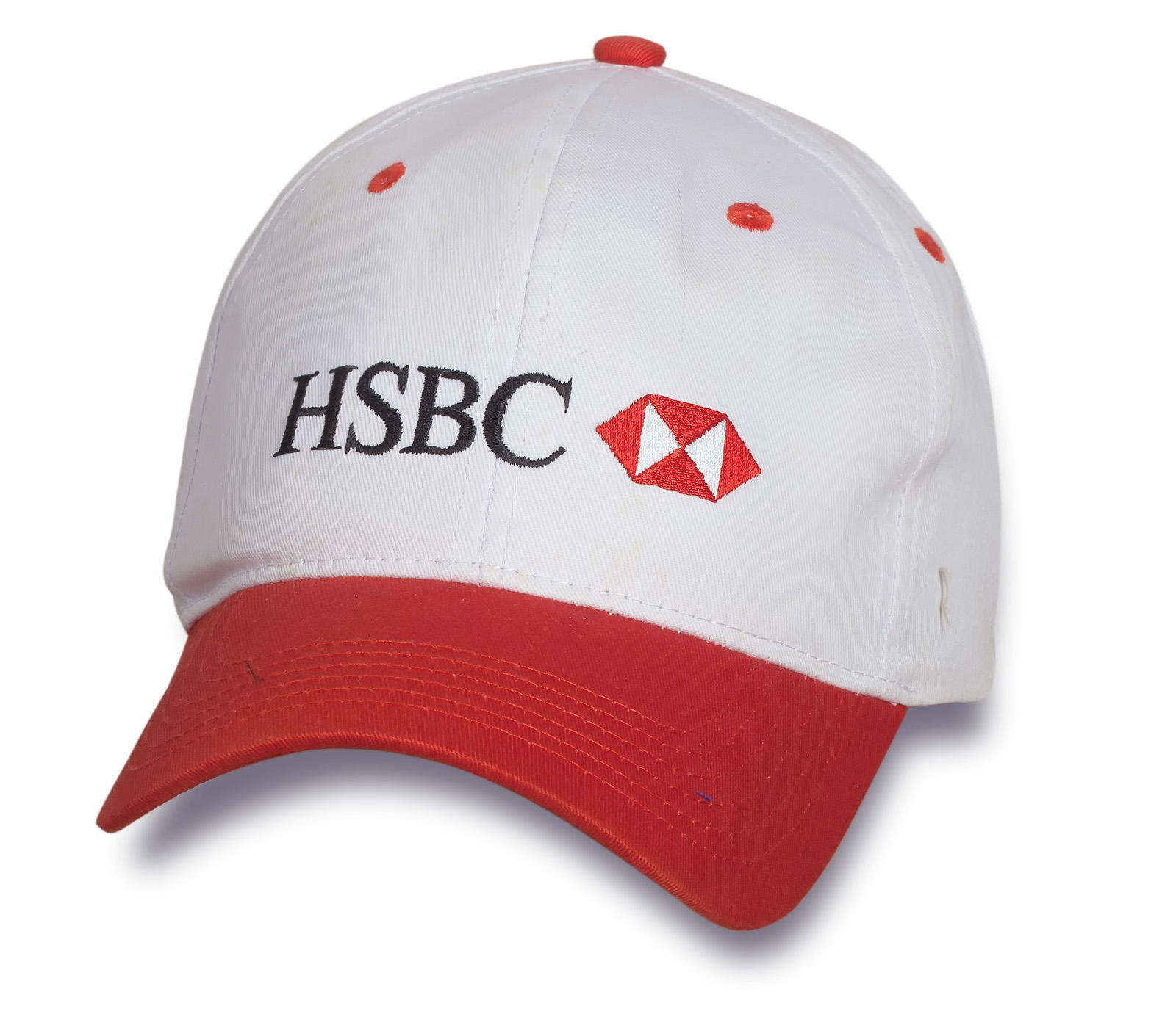 Крутая двухцветная бейсболка HSBC