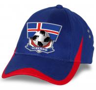 Крутая двухцветная кепка сборной Исландии