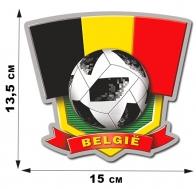 Крутая фанатская наклейка сборной Belgium