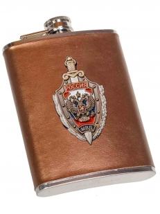 Крутая фляжка с накладкой МВД России - купить в Военпро