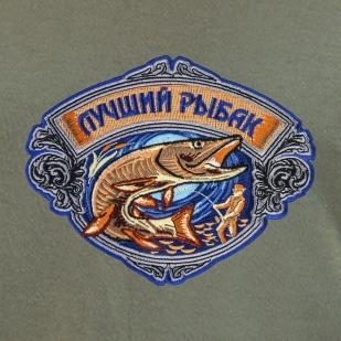 Крутая подарочная футболка для ЛУЧШЕГО РЫБАКА