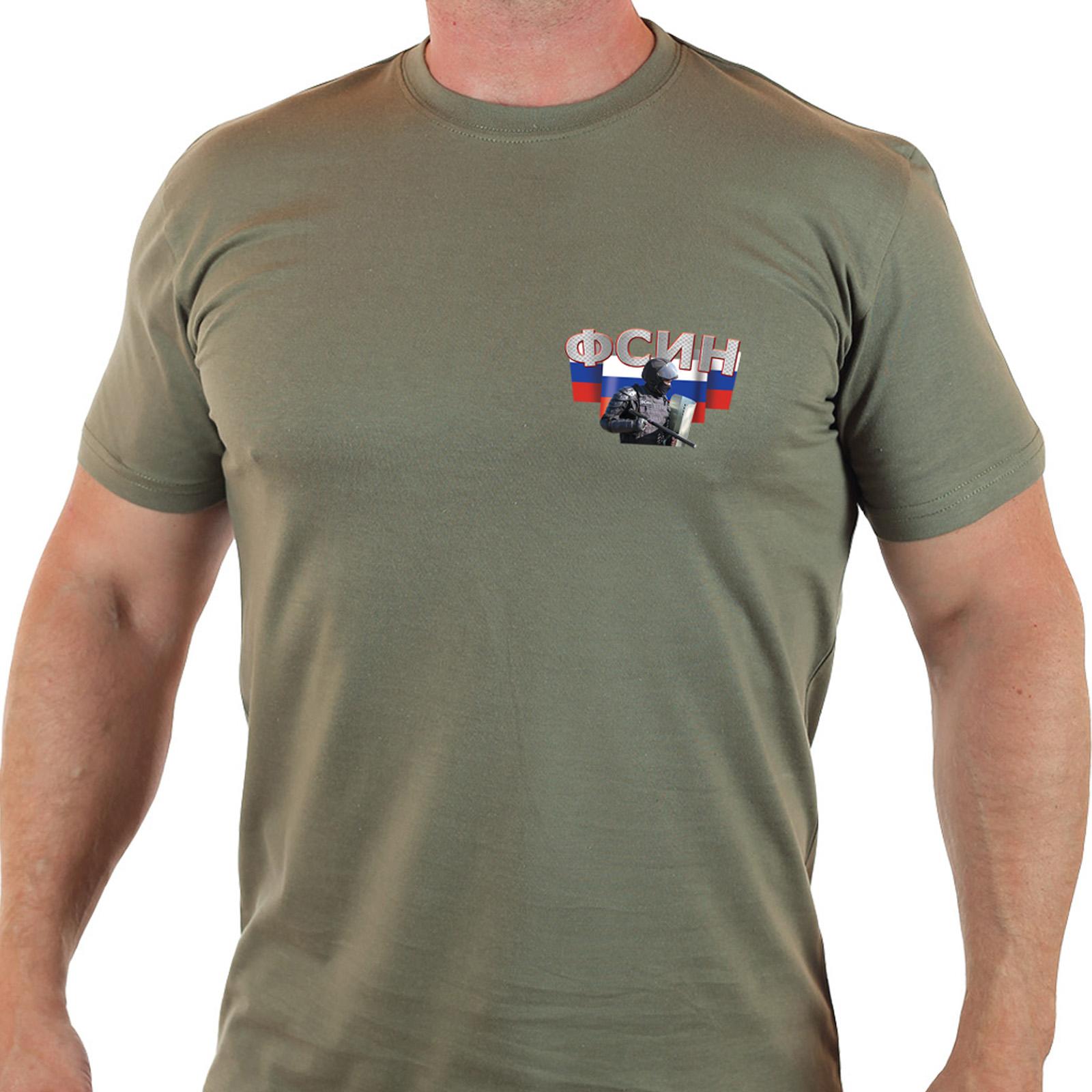 Крутая мужская футболка ФСИН.