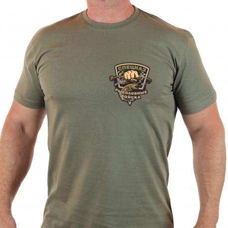 """Крутая футболка с принтом """"Рыболовные войска"""" - купить с доставкой"""