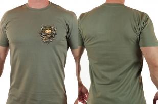 """Крутая футболка с принтом """"Рыболовные войска"""" - купить оптом"""