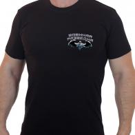 """Крутая футболка с термотрансфером """"Военная разведка"""""""