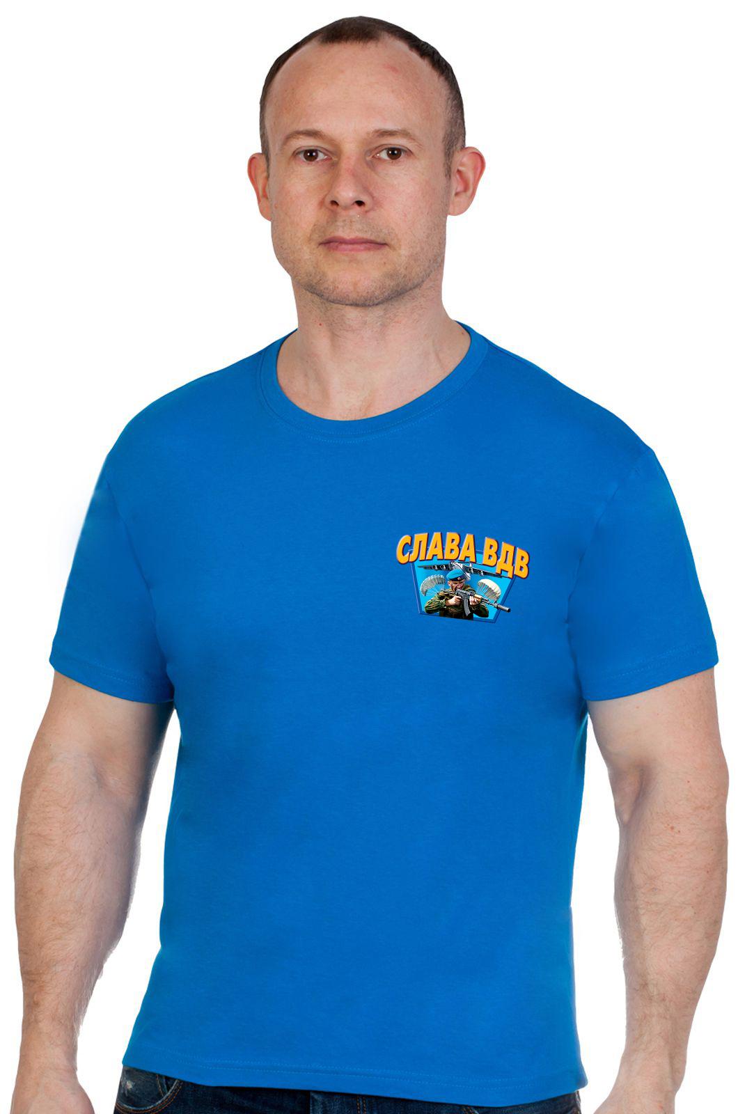 """Крутая футболка """"Слава ВДВ"""" - купить по привлекательной цене"""