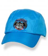 Крутая голубая бейсболка с термонаклейкой Спецназ ГРУ