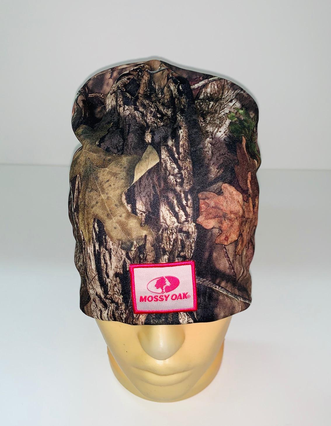 Крутая камуфляжная шапка Mossy Oak