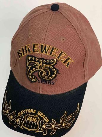 Крутая кепка 75 лет BIKEWEEK