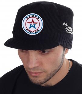 Крутая кепка-шапка Miller Way с нашивкой Армия России - купить выгодно