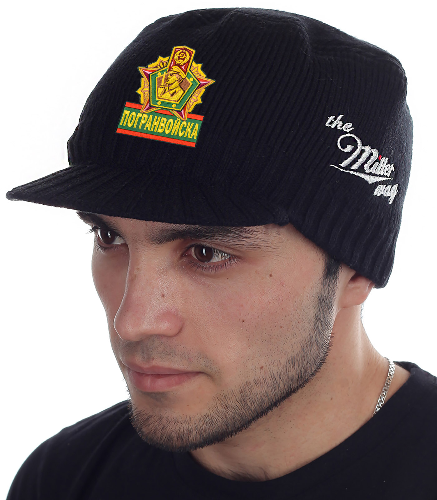 Крутая кепка-шапка Miller Way с нашивкой Погранвойска - заказать выгодно