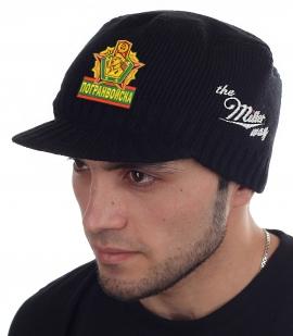 Крутая кепка-шапка Miller Way с нашивкой Погранвойска - заказать с доставкой