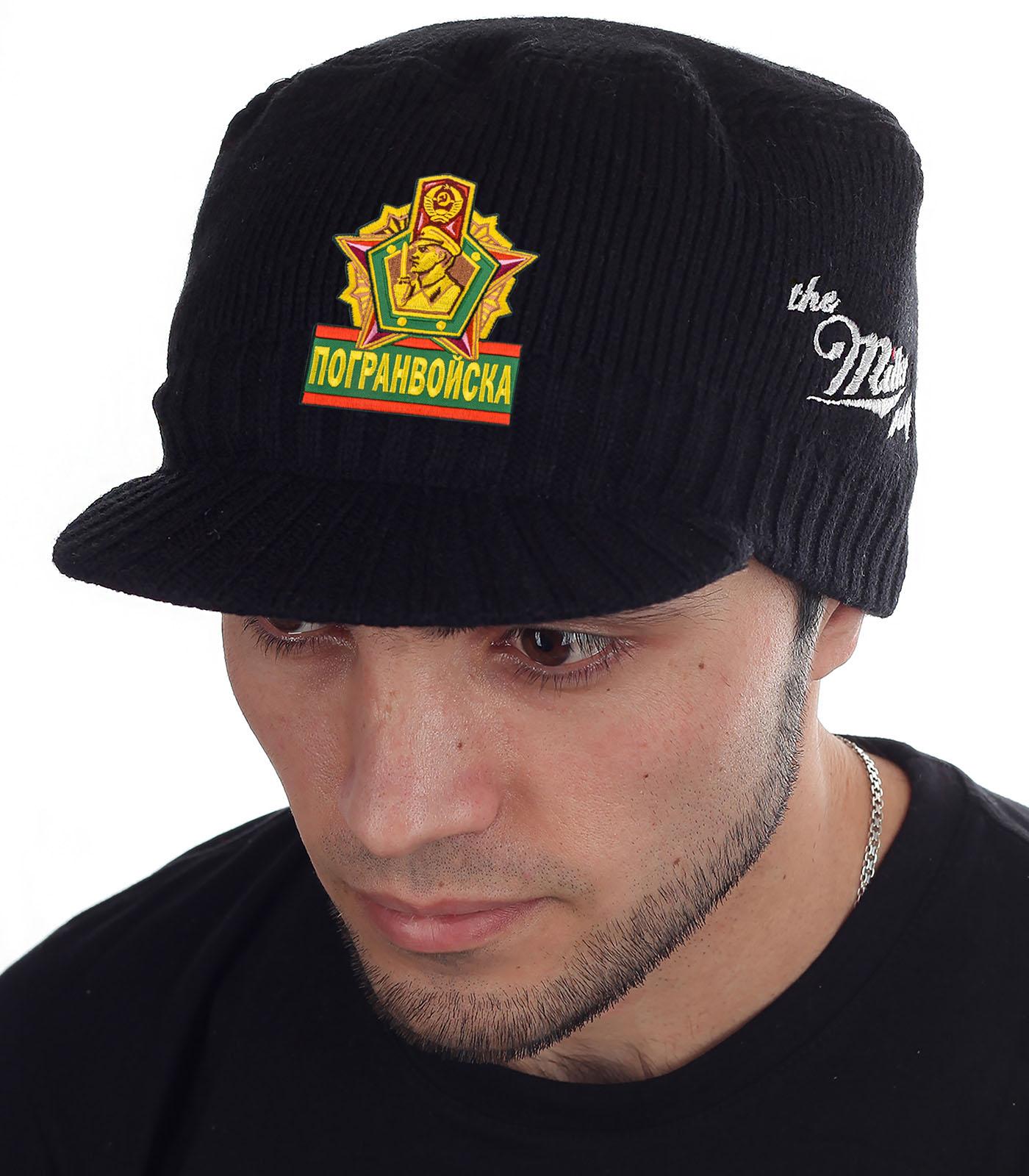 Крутая кепка-шапка Miller Way с нашивкой Погранвойска - заказать оптом