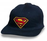 Крутая кепка снепбек с лого Супермена
