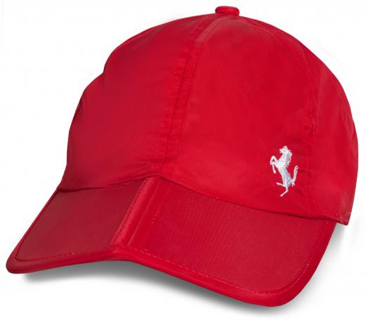 Крутая красная бейсболка Ferrari