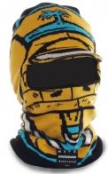 Крутая маска-балаклава Neff с козырьком. Надежная защита от капризов погоды