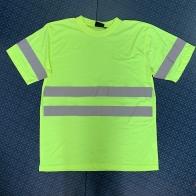 Крутая мужская футболка со светоотражающими полосками
