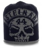 Крутая мужская шапка Steinar с черепом. Безупречная модель на все случаи жизни