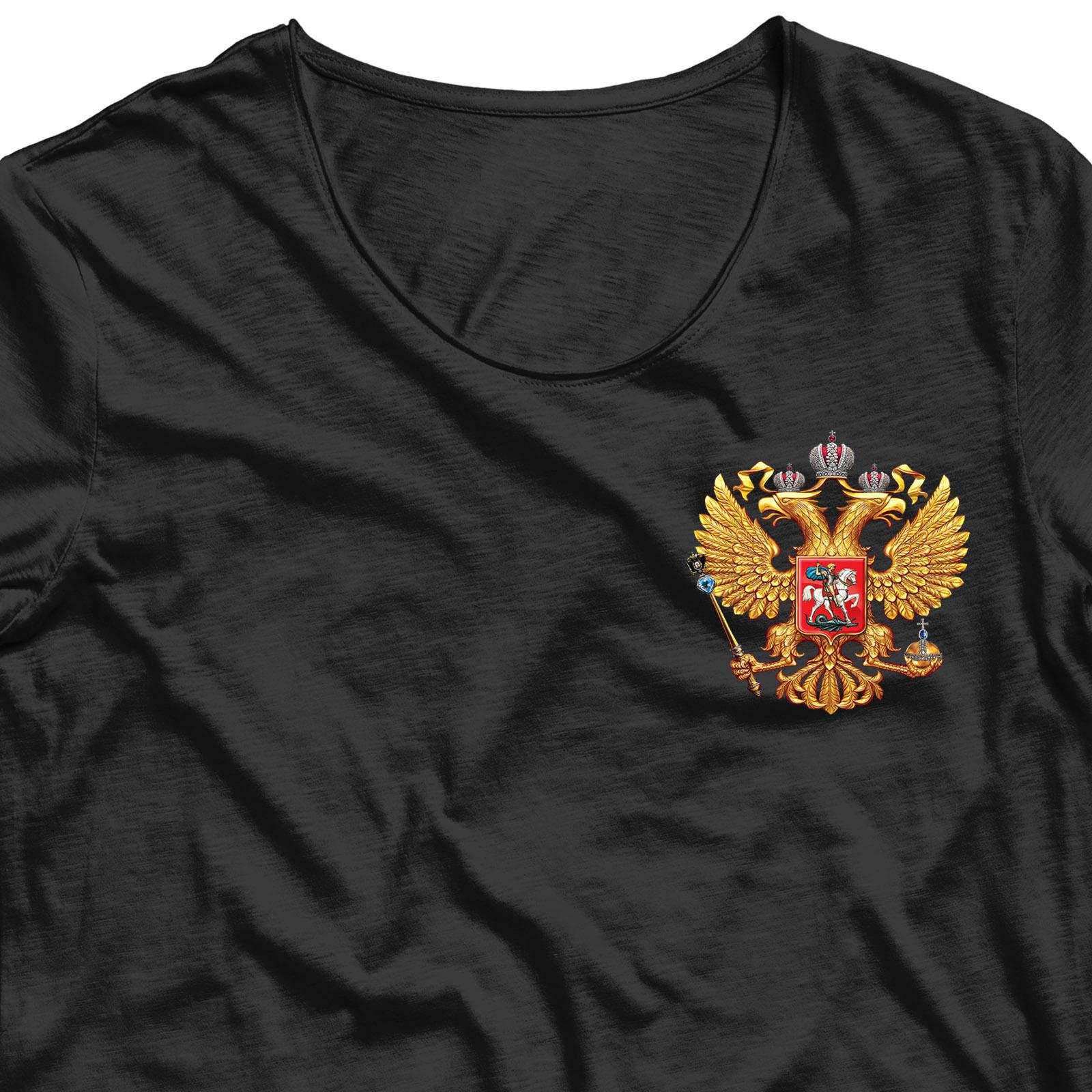 Крутая наклейка-термотрансфер Двуглавый Орел - купить онлайн