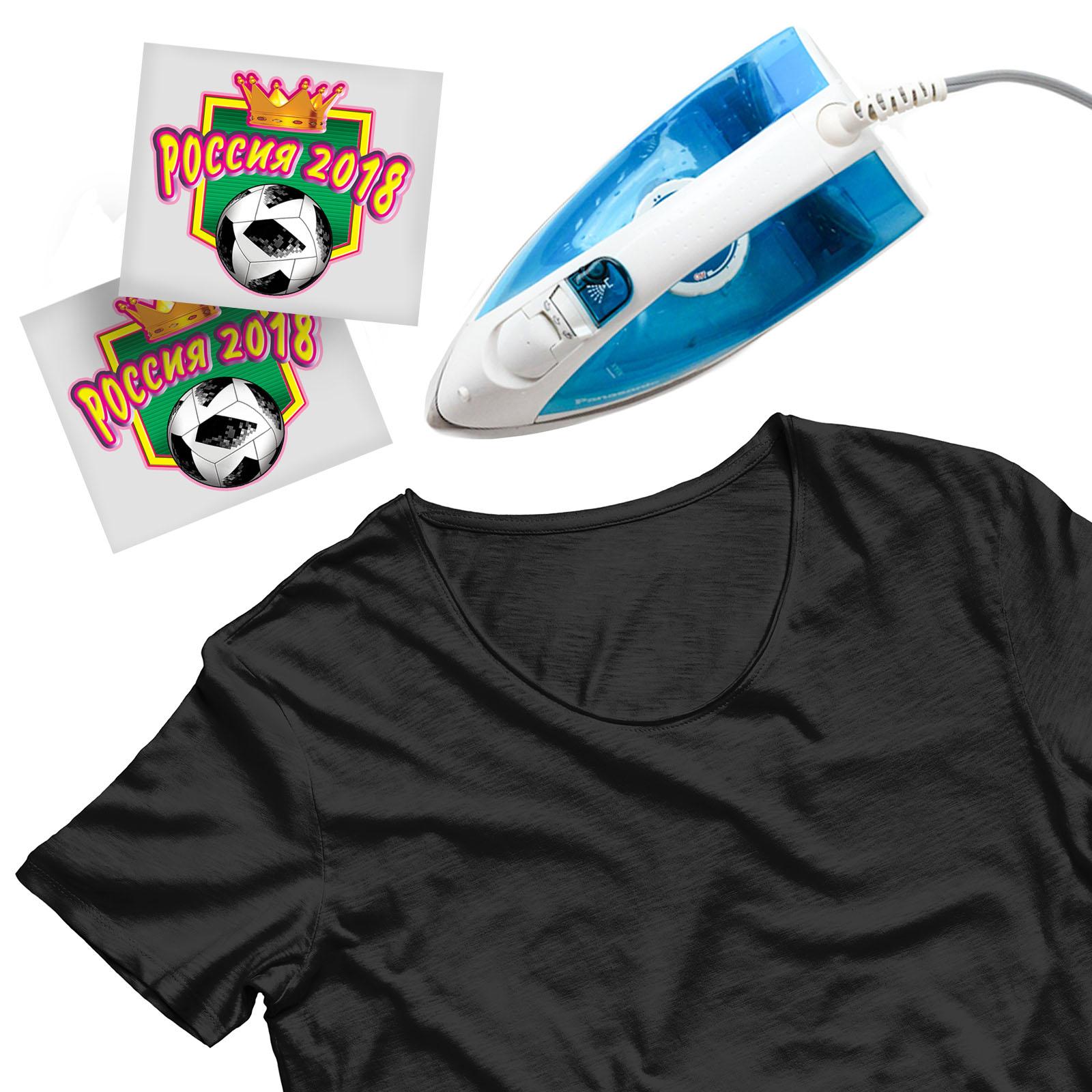 Крутая наклейка-термотрансфер на футболку - купить в подарок