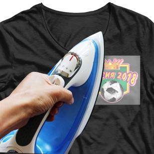 Крутая наклейка-термотрансфер на футболку - купить с доставкой
