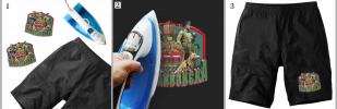 Крутая наклейка-термотрансфер на футболку Погранвойска - купить выгодно