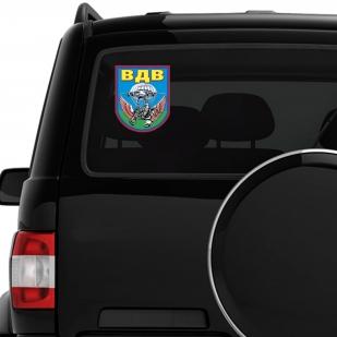 Крутая наклейка ВДВ на авто недорого от Военпро
