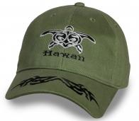 Крутая оливковая бейсболка Hawaii