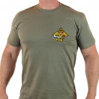 Крутая оливковая футболка РХБЗ