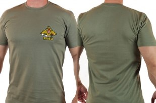 Крутая оливковая футболка РХБЗ - купить оптом