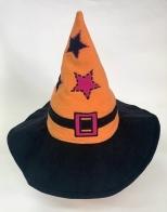 Крутая остроконечная шляпа со звездами