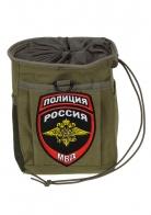 Крутая поясная сумка для фляги с нашивкой Полиция России