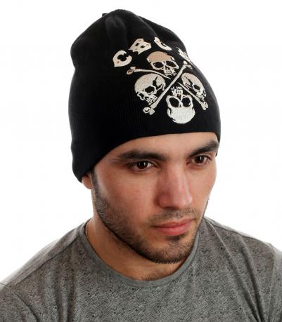 Крутая шапка с черепами от CBGB®