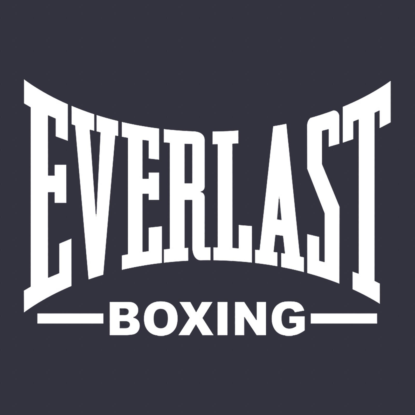 Купить крутую темную бейсболку с термонаклейкой Everlast Boxing выгодно в подарок