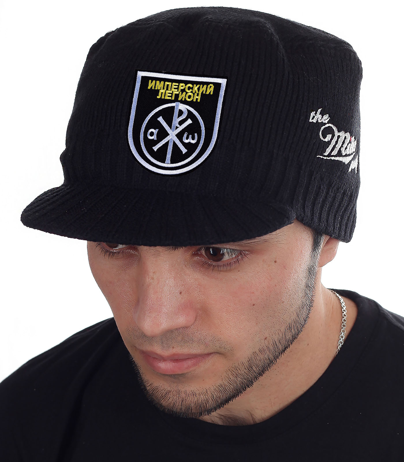 Крутая теплая шапка с козырьком Miller Way - купить онлайн