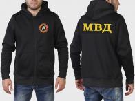Крутая трендовая толстовка с капюшоном и символикой ВВ МВД