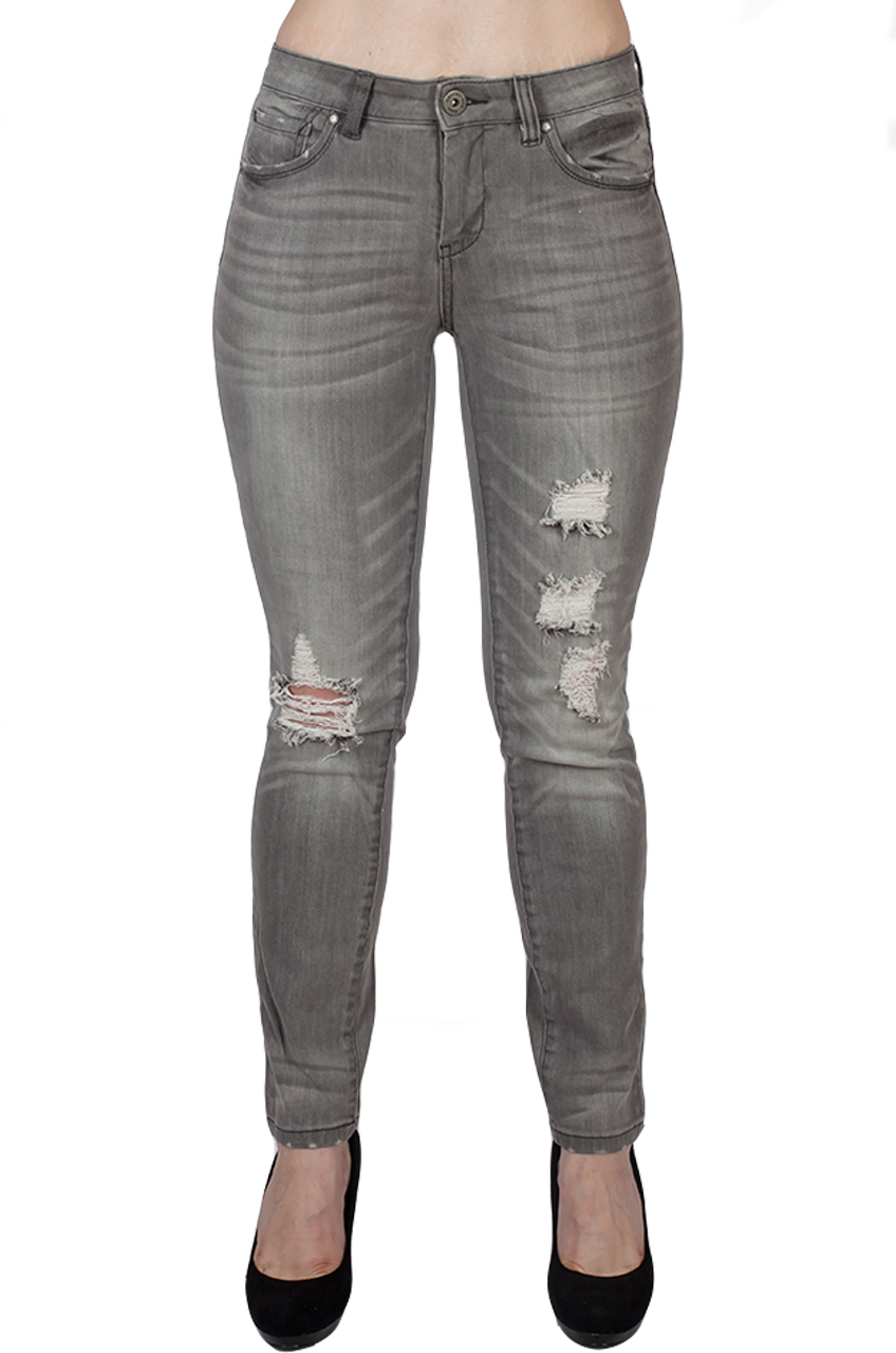 Круто состаренные джинсы для смелых девушек от B.C.®