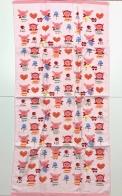 Крутое детское полотенце со свинками