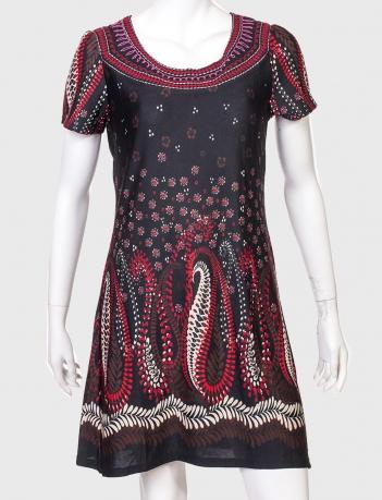 Крутое полуприлегающее платье от бренда Papillon
