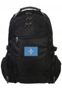 Крутой черный рюкзак с эмблемой МЧС