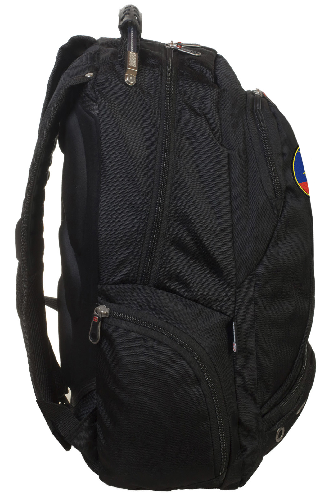 Крутой черный рюкзак с эмблемой РВСН купить в подарок