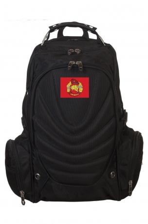 Крутой черный рюкзак с нашивкой Спецназ