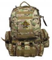Крутой камуфляжный  рюкзак с эмблемой РХБЗ
