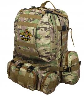 Заказать крутой камуфляжный  рюкзак с эмблемой РХБЗ