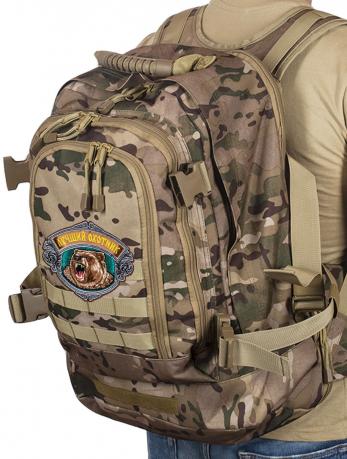 Крутой камуфляжный рюкзак с нашивкой Лучший Охотник