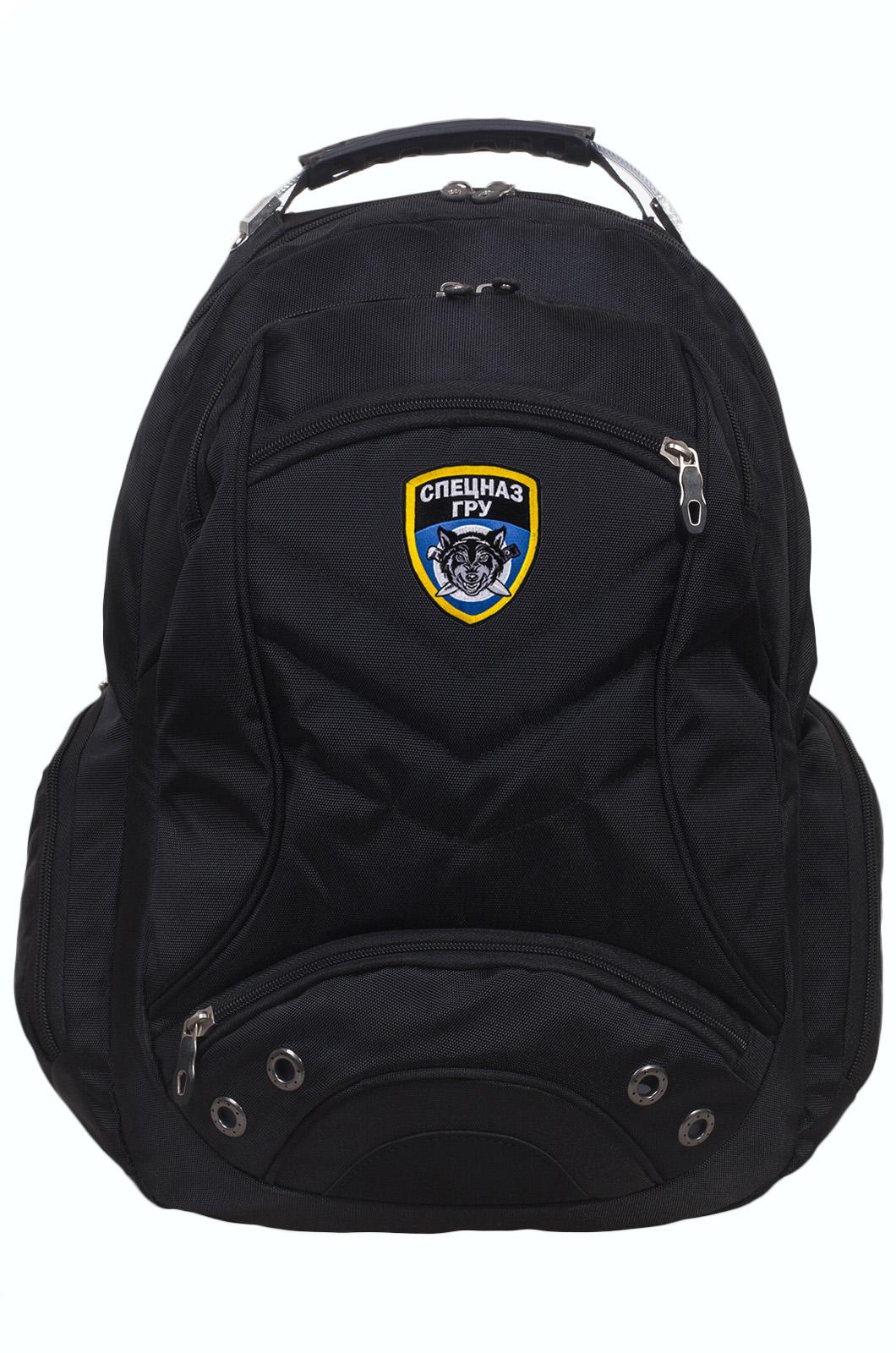 Крутой мужской рюкзак с эмблемой СпНаз ГРУ