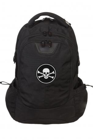 Крутой надежный рюкзак с нашивкой Пиратский флаг